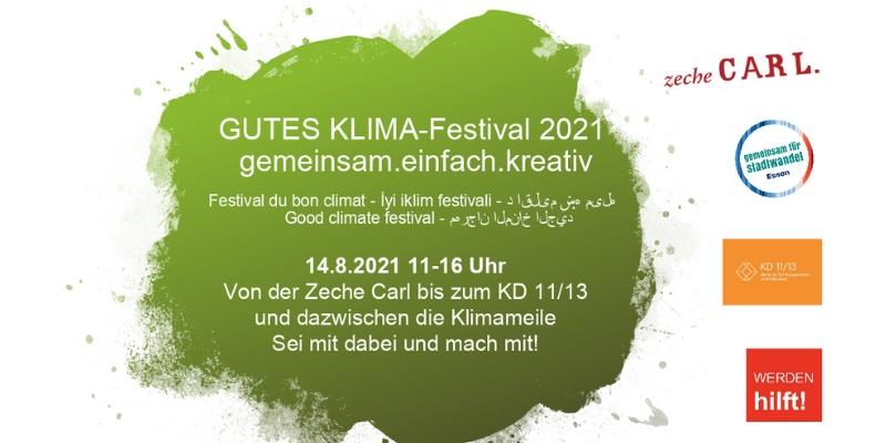 Gutes Klima Festival 2021 Ankündigung